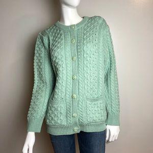 Aran Crafts Ireland 100% Merino Wool Sweater